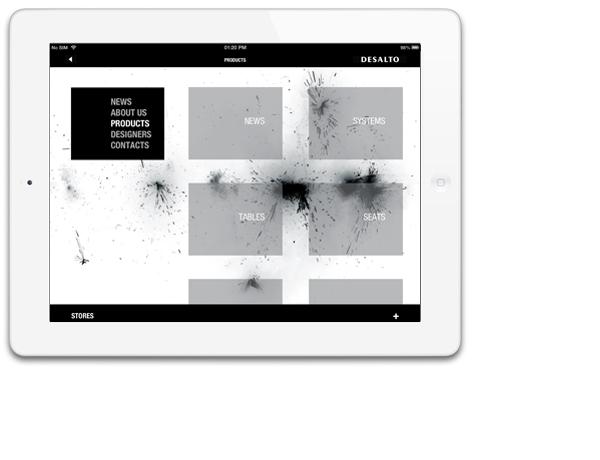 DESALTO Ipad app